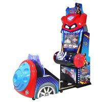 Quality 275 W Racing Arcade Machine , Amusement Coin Operated Crazy Car Driving Simulator for sale
