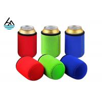 Quality Custom Foam Neoprene Can Holder / Mutispandex Personalized Beer Can Cooler for sale
