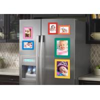 Quality Waterproof Photo Print Fridge Magnet , Square Photo Magnets ISO Approved for sale