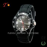 Quality One of the most popular quartz silicone watches color customized  for promotion for sale