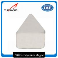 Quality Industrial Triangle Neodymium Magnet Passivation Temporary Surface For Toys for sale