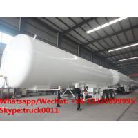 Quality 2019s new designed triple axles 46,000Liter propane gas road transported tanker for sale, HOT SALE! 46CBM LPG GAS TANKRE for sale