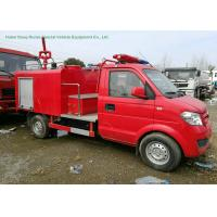 Quality Left Hand	Drive Fire Fighting Truck With Gasoline Portable Fire Pump 1CBM Water for sale