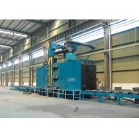 Quality Steel Structure Abrasive Blast Cleaning Equipment Roll Brush Adjusting Height for sale