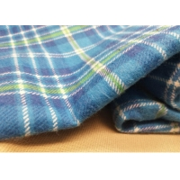 Quality Twill Cotton Flannel Fabric For Men'S Casual Shirts By 100% Cotton Yarn for sale
