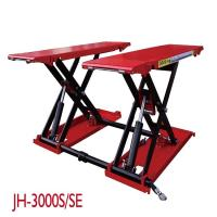 Quality 110V 220V Vehicle Scissor Lift With Optional Color Air Supply 6-8 Bar Stable for sale