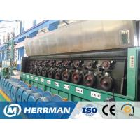 Buy Al Alloy Wire / Copper Rod Drawing MachineWith Dual Bobbin Take Up High Potency at wholesale prices