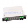 Buy cheap SC APC 1×2 PLC Splitter 650nm Rack Mountable For PON CATV Networks from wholesalers