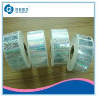 Quality Roll Hologram Labels , Custom Hologram Stickers , Anti-fake 3d Hologram Roll Label for sale