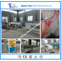 Quality Plastic PE PPR Water Pipe Making Machine for sale