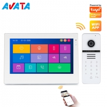 Buy cheap Tuya APP IP/WiFi IPS HD Touch Screen Video Doorbell Video Door Phone Intercom from wholesalers