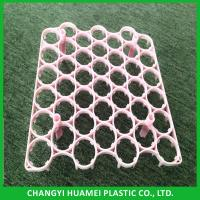 Quality Different type 42 holes plastic incubator egg tray for sale