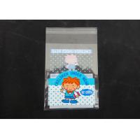 Clear Plastic Display Self Adhesive Poly Bags For Clothing Gloss Finish