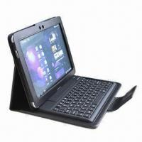 Quality Samsung P6800 Keyboard with PU Leather Case  for sale