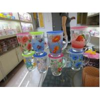 Quality Colored Glass Tumblers (JD24) for sale