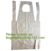 Quality PBAT+PLA Compostable disposable plastic apron,100% Biodegradable & Compostable disposable,Safe and Healthy, bagease, pac for sale