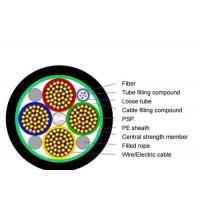 Quality G657A2 12f Fiber Optic Cable , Hybrid Cable Fiber And Power Units Hybrid 3 X 6 Mm² for sale