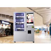 China Bottles / Cans / Snacks Mini Mart Vending Machine Customed with Network LCD Advertising Display on sale
