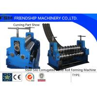 Quality Corrugated Sheet Rotary Bender Corrugated Roll Forming Machine Thinckness 2mm - 4mm for sale