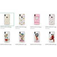 Quality Lady Bling Phone Cover Case Silicone Clear Soft Material Easy To Install / Tear Down for sale
