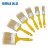 Buy cheap Professional Paint Flat Brush Plastic Handle PET Fibre Bristles For Painting from wholesalers