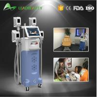 Quality 4 handles fat freezing Cryolipolysis cold body sculpting machine for sale