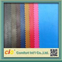 Buy 0.4mm Colorful PU Synthetic Leather / Artificial Leather Fabric For Bag at wholesale prices