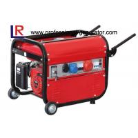 Quality 3 Phase 2500Watt Gasoline Generators for Europe , Single Cylinder 4 Stroke Recoil or Key Start for sale