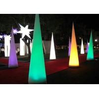China Conical Balloon Light Up Inflatables Eco Friendly PVC Coated Nylon Materials on sale
