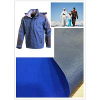 Quality Skiing Wear Soft Nylon Taslon Fabric Water Repellent Dyed Bonding With Tricot for sale