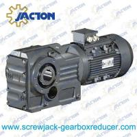 China 45KW 55KW 75KW K Series helical gear spiral bevel gear reducer Specifications on sale