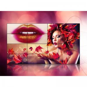 China Advertising Display Seamless Video Wall Lcd Monitors , Indoor Lcd Wall Display on sale