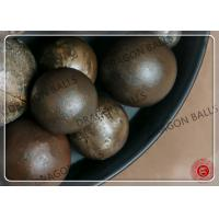 Quality Mining Cast Iron Grinding Balls 40mm , Grinding Media For Cement Mill for sale