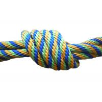 Multicolor Braided nylon / Polypropylene Non Elastic Tape Rope spandex fabric pulley