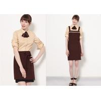 Quality Coffee Shop Fine Dining Restaurant Staff Clothing Unisex With High - End Suit for sale