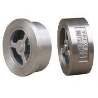 Quality API603,BS1868 double disc wafer check valve–Check Valve--ASG Fluid Control Equipment–KCM for sale