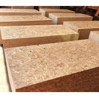 Quality Natural Wood Color Oriented Strand Board 9 - 20mm Thickness With Polished Surface for sale