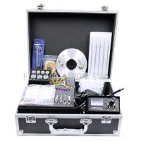 Quality NEW TATTOO KIT 1 GUN MACHINE COMPLETE POWER NEEDLE TIPS CD INK CUP for sale
