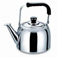 Quality Stainless Steel Whistling Kettle with 4, 5, 6/7L Sizes, Can be Tea Pot and Kettle for sale