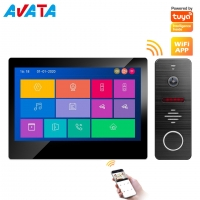 Buy cheap IP/WiFi 4 Wire HD Touch Screen Video Intercom Smart Home Tuya Wire/Wireless from wholesalers