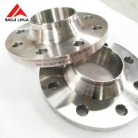 China 150# 300# Titanium Weld Neck Pipe Flanges 3'' 5'' For Chemical Industry on sale