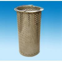 Quality Polished  Perforated metal tube /perforated metal tube for sale