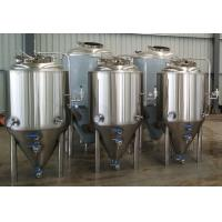 Buy Beer brewing system jacketed fermenter 300l 500l 1000l at wholesale prices