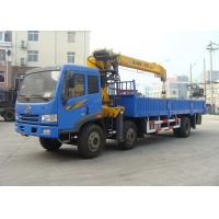 Quality 8 Ton Telescoping Boom Truck Crane , Hydraulic truck loading crane for sales for sale