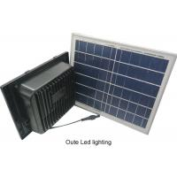 China Square Solar Powered Landscape Lights / ABS Solar Security Flood Lights on sale