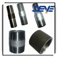 Quality CARBON STEEL BLACK NIPPLE WELDED SCH40 NPT THREAD for sale