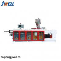 Quality Continuous Working Plastic Pellet Extruder , Pvc Pelletizing Line Metal Structure for sale