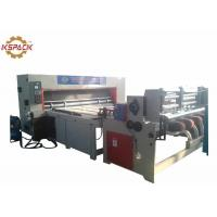 China Chain Feeding  Corrugated Box Die Cutting Machine Pizza Box Making on sale