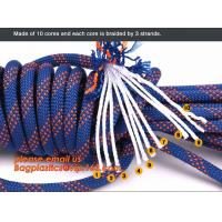 Quality personal protective escape rope polyester rope, high strength fire escape safety climbing rope for sale