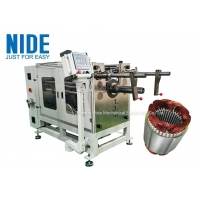 Quality Medium Motor Stator PLC Coil Inserting Machine For Industrial Motor for sale